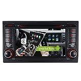 7' Android 10 Dual Tuner 32GB DVD GPS Autoradio Navigation für Audi A4 S4 RS4 Seat Exeo Unterstützt BT 5.0 DAB WiFi 4G OBD2