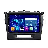 KLL Autostereo Android 10.0 Auto Navigation Armaturenbrett System Für Suzuki Vitara 2015-2016 Unterstützt Bluetooth + CD WiFi Auto USB Lenkradsteuerung