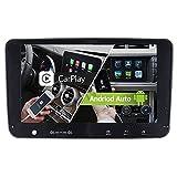 Junhua Kompatibel mit Autoradio GPS Navigation VW Passat B6 Golf 5 6 Touran Tiguan Transporter T5 Polo EOS Skoda Seat Unterstützt 2GB 32GB Carplay Android Auto dual FM Tuner WiFi Bluetooth 5.0