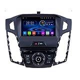 TAFFIO® 9' Touchscreen Android Autoradio DVD GPS Navigation Bluetooth USB Kompatibel mit Ford Focus