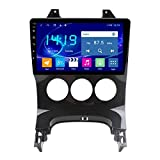 CWGMG Android 10.0 Autoradio Compatible with Peugeot Accessories for (2009-2016) 3008 FM-Radio GPS Navigation Mit Bluetooth/WiFi,4g 1g+16g,B