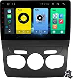 9 Zoll QLED Touch Screen Android 10 Multimedia Navigation für Citroen C4 C4L DS4 2013-2017, RDS FM Stereo Autoradio mit GPS-System, unterstützt SWC DSP-Carplay Android Auto