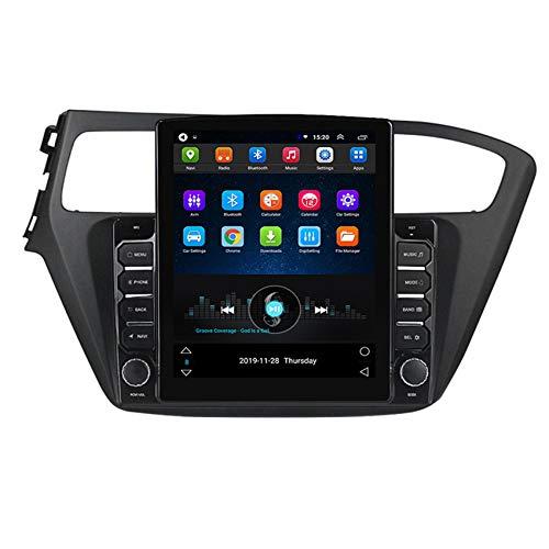 DMMASH Android 8.1 Autoradio Radio GPS Navigation Multimedia-Player Auto Stereo für Hyundai I20 2018-2019 unterstützt Lenkradsteuerungs mit WiFi Bluetooth,4core wif: 2+ 32g+dsp
