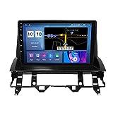 ADMLZQQ Android 10 Autoradio Radio Car in Dash Stereo Android 10 GPS Navigation Multimedia-Player Für Mazda 6 2002-2008 Lenkradsteuerung/WiFi/Spiegelverbindung/Bluetooth/Rückfahrkamera,M200s