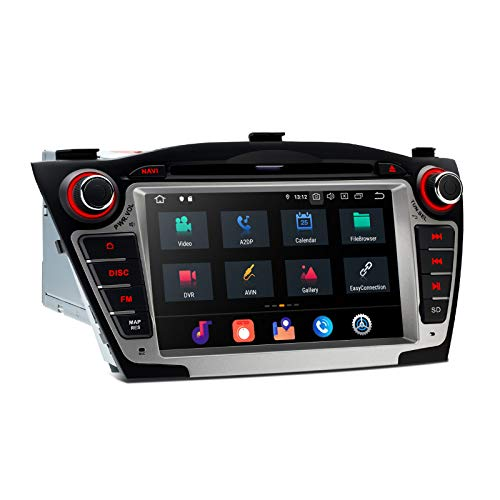 XTRONS 7' Android 10 Doppel-Din-Autoradio Bluetooth 8 Core 4 GB RAM 64 GB RAM GPS-Navigation Autoradio DVD-Player-Unterstützung CarAutoPlay 2K-Video DAB + OBD TPMS Screen MirrorLink für Hyundai IX35