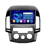 Flower-Ager Android Autoradio Für Hyundai I30 2006-2011 Auto Radio Audio Bluetooth Touch MP5 Player USB FM Android Telefon Spiegel Link Entertainment Multimedia Stereo Mit SWC,Manual