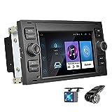 Android 8.1 Autoradio für Ford Focus Mondeo NHOPEEW 7'Autoradio-Unterstützung GPS-Navigation WiFi Dual USB DVR-Recorder für Ford Focus Mondeo C-Max S-Max Galaxy Kuga + Kostenlose Kamera