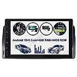 9' Android 10.0 Octa-Core 4GB 64GB Carplay Android Auto Autoradio GPS in Dash Navigation für BMW E46 M3 325 3er 318 320 Rover75 OBD2 Bluetooth 5.0 RDS WiFi 4G LTE AUX