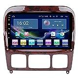 HYCy Auto-DVD-Player Multimedia-GPS-Navigation Ist Geeignet Für Mercedes-Benz S-Klasse 99-07 Android Smart GPS-Navigation 2+32G Unterstützung 3G/4G/WIFI Lenkradsteuerung