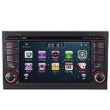 Bilaterale Taste 7' AUTORADIO MIT 3G DVD GPS Navigation USB SD Bluetooth Autoradio CD Moniceiver+Bluetooth+ Dual Zone+Subwoofer+DAB+Mirrorlink+VMCD Für Audi A4 S4 RS4 B6 B7 Seat Exeo