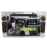 Silber Android 10.0 Dual Tuner 2GB 32GB Carplay Android Auto Autoradio DVD GPS Navigation für OPEL Astra H G Corsa C D Vivaro Antara Vectra Zafira uterstützt Rohm DSP Bluetooth 5.0 DAB WiFi 4G USB CD